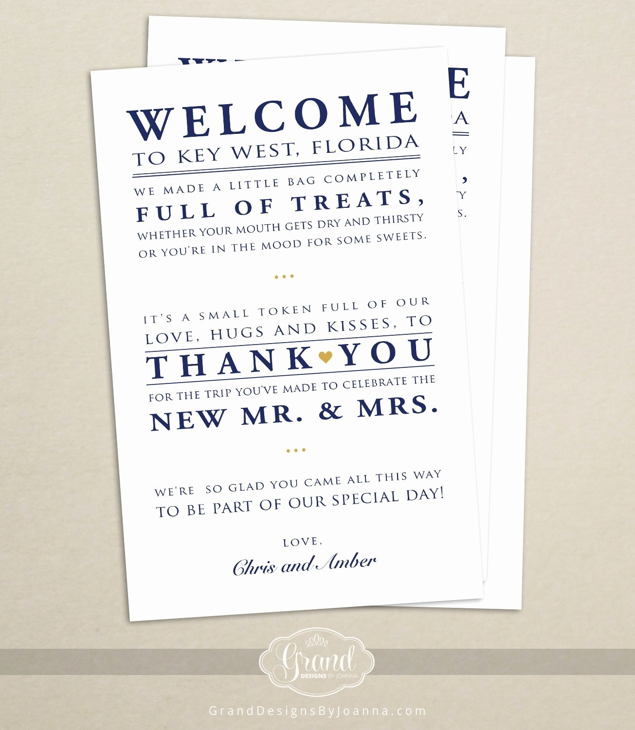 Wedding Welcome Bag Letter Template Collection Letter Template