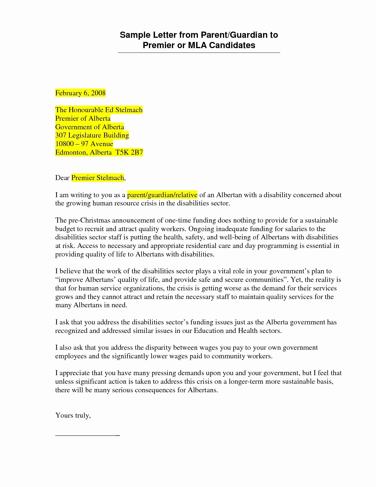 Mla Cover Letter Template