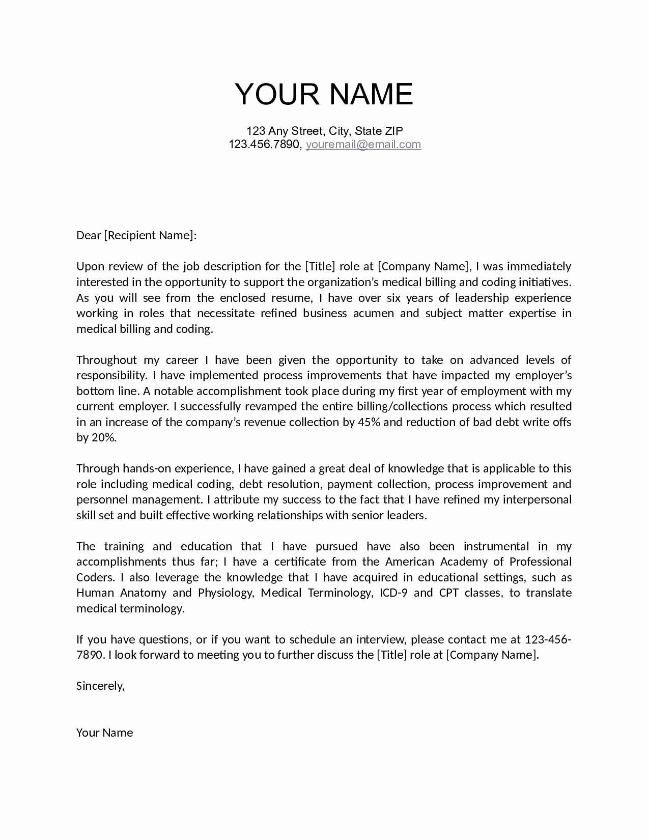 good cover letter template examples letter template collection