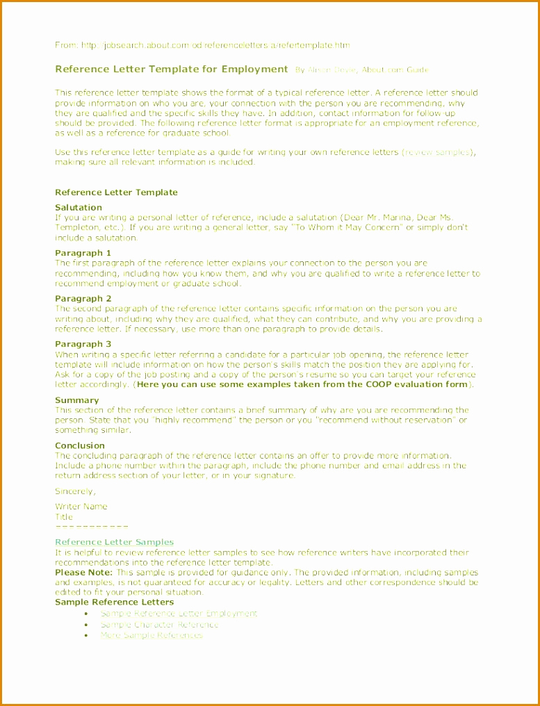 School Reference Letter Template Examples Letter Template Collection