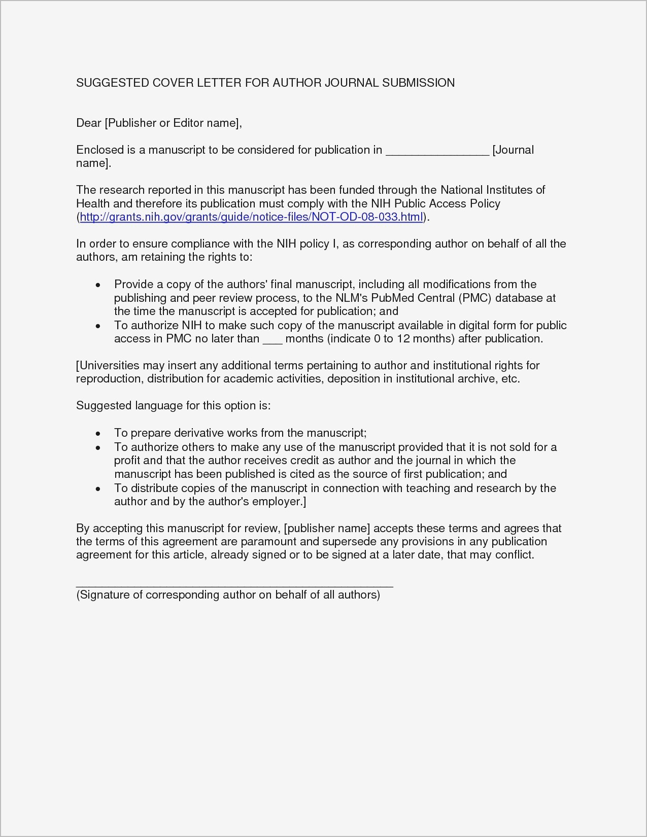 Cover Letter Template Pdf Collection